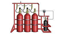 Gas-based fire suppression systems