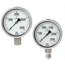 New high-pressure gauges qualified as the first in accordance with DIN 16001