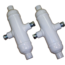 Condensate and seal pots