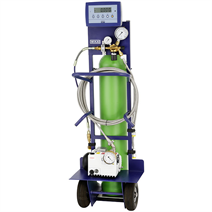 SF<sub>6</sub> gas cart, model GFU08-B, basic version